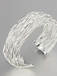 hete verkopende partij / werk / casual verzilverde manchet armband mooie sieraden