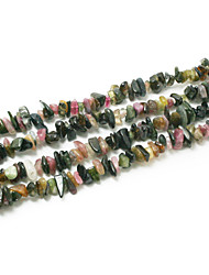 "Beadia Tourmaline Stone Beads 5-8mm Irregular Shape DIY Loose Beads For Making Necklace Bracelet 34""/Str"
