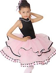 Vestidos/Auriculares Con Micrófono/Accesorios Para el Cuello (Negro , Nylón/Spandex/Lentejuela/Tul , Ballet) - Ballet - para Mujer/Niños