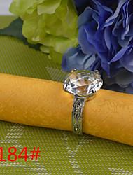 6Pcs 3CM Diamond Napkin Ring