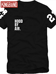 Men and Women Hood By Air HBA X Then Trill Kanye West Short sleeve T-shirt CIP03