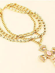 New Arrival Fashional Hot Selling Popular Cross Pearl Necklace