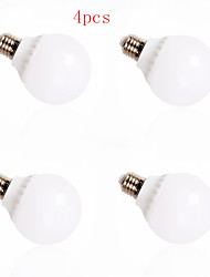 4pcs HRY® 12W E27 30XSMD5630 1000LM LED Globe Bulbs LED Light Bulbs(220V)