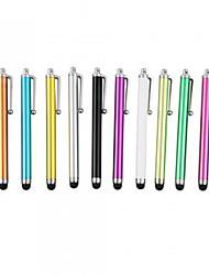 kinston® 12 x universel clip stylo écran stylet tactile succès en métal pour iphone / ipad / samsung et d'autres