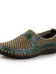 Chaussures Hommes - Décontracté - Bleu / Marron / Vert - Toile / Tulle - Baskets à la Mode