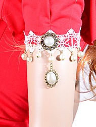 Fashion Pearl Lace Bracelet