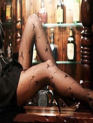 Sexy Lady Pentagram Fishnet Stockings