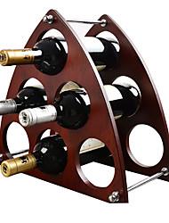 красное вино стойки, винные стойки, имитация массива дерева, шесть ручки