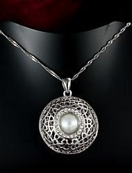 produtos de venda quentes do partido / ouro ocasional colar de pingente banhado presente para as mulheres