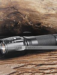 2200lm CREE XM-L T6 LED 18650/26650 / aaa torcia fuoco luce della torcia