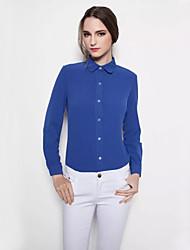 Women's Chiffon Long Sleeve Blouse
