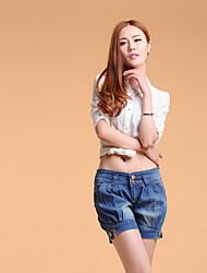 Women's Large Size Lantern Jeans