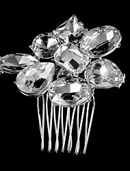 Vintage Wedding Party Bridal Bridesmaid Diamond/rhinestone/crystal Swirl Bridal Hair Comb For Women