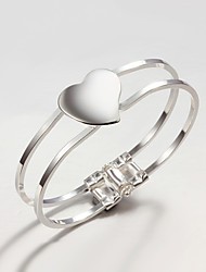 New Design Party/Work/Casual Silver Plated Cuff Bracelet High-quality Fine jewelry