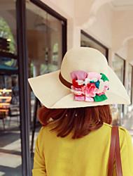 Femme Vannerie Casque-Occasion spéciale / Extérieur Chapeau 1 Pièce