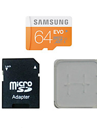 SAMSUNG 64GB Class10 40M/S TF Memory Card And The Memory Card And The Memory Card Adaptor Box