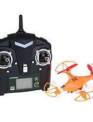 LS-115 4-Channel 4-Axis Aerial Helicopter W/ 6-Axis Gyro/Camera/LED Light - Orange