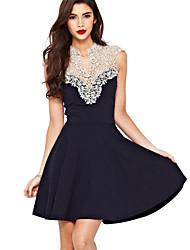Платье Смесь хлопка