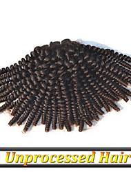"""3шт / много 12 """"-30"""" чистые волосы России естественный цвет странный вьющиеся можно resytyed"""