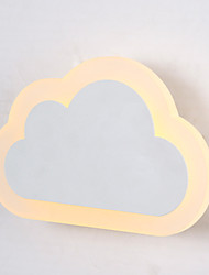 Cloud Led Wall Light/Wall Sconces LED/Bulb Included Modern/Bedroom/Living Room/Hotel/ Metal+Acrylic