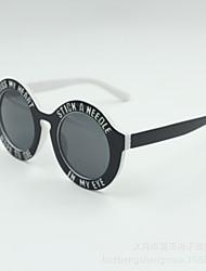 hombres/mujeres/Unisex 's 100% UV400 Rund Sonnenbrillen