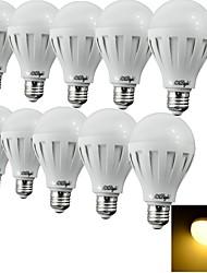 E26/E27 Lâmpada Redonda LED 12 SMD 5630 500 lm Branco Quente / Branco Frio Decorativa AC 220-240 V 10 pçs