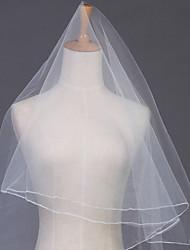 Wedding Veil One-tier Chapel Veils Pencil Edge
