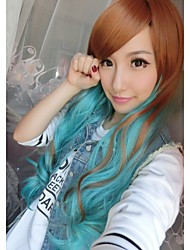 75Cm Harajuku Heat Resistant Long Young Big Wavy Curly