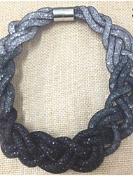 Femme Collier court /Ras-du-cou Résine # 4 # 5 # 6 # 7 # 8 Bijoux Pour Mariage Soirée Quotidien Décontracté 1pc
