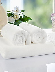 Yuxin® Hotel Supplies Towels Cotton Towel Sets of Towels White Cotton Towel Sets Combination  (A bath Towel Two Towels)