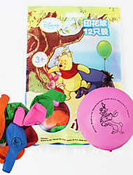 Disney Winnie l'ourson ballons 12pcs / sac