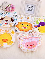 Baby's Unisex Reusable Washable Nappy Changing Panties Cotton Diapers Panty
