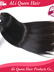 Ali Queen hair products 7A Brazilian Virgin Hair Straight Natural Color Human Remy Hair 3pcs/Lot Free Shipping