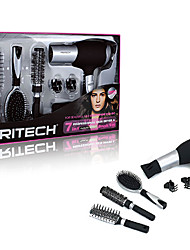 PRITECH 7 In 1 Professional Long Life Big 2000W Motor Hair Dryer Hair Blow Dryer Sets With Brush & Comb