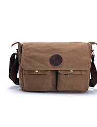Men Canvas Crossbody Every Day Bag Causal Messenger Cool Over Shoulder Travel School Laptop Military Bookbag