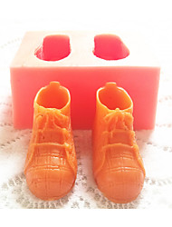 Bakeware Silicone Sports Shoes Baking Molds for Fondant Candy Chocolate Cake