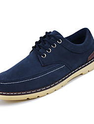 Men's Shoes Black/Blue/Brown Casual (Leather)