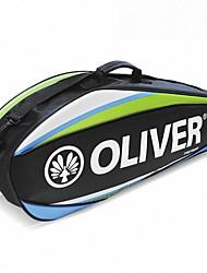 синий / оранжевый многофункциональный отдыха рюкзак мешок ракетки для бадминтона команда мешок