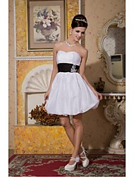 Cocktail Party Dress Plus Sizes / Petite A-line Sweetheart Knee-length Taffeta