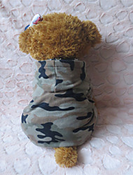 Kapuzenshirts für Hunde Grau Winter XS / S / M / L Polar-Fleece