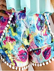 Women's Trade New Summer Wild Floral Shorts