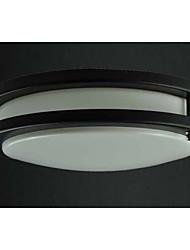 15w conduit de lumière de plafond noir, 110-240V, la lumière blanche de la lumière du jour