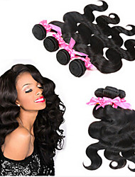 3pcs / lot brazilian maagd haar body wave 100% onbewerkt human hair brazilian haar weave bundelt 8a brazilian body wave