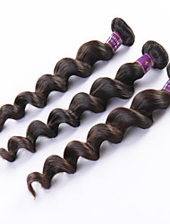 "3pcs / lot 8 ""-26"" cheveux vierge de cheveux naturelle de desserrent la vague noire direct fabricant malaisien"