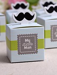 Favores y regalos de la fiesta Cajas de regalos Papel de tarjeta Baby Shower Other Sin personalizar Papel de tarjeta Blanco12Piezas /