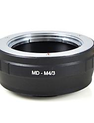 mengs® md-m4 / 3 monture d'objectif anneau adaptateur pour Minolta mc md lentille pour Olympus E-P1 ou Panasonic G1 gh1- m4 / 3 corps de