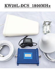LCD Display 70dbi Mobile Phone Signal Repeater DCS 1800Mhz Cell Phone Signal Booster GSM 1800Mhz Full Amplifier Kits