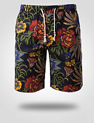 Shorts ( Coton/Lin ) Plage/Informel Homme