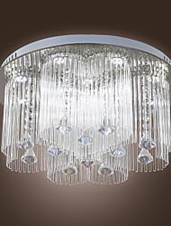 2 maneira graciosa LED de cristal do teto Luz 12 Luz