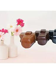 dengpin Schutz abnehmbare Leder Kamera Tasche Deckel mit Schultergurt für Olympus E-PL7 (verschiedene Farben)